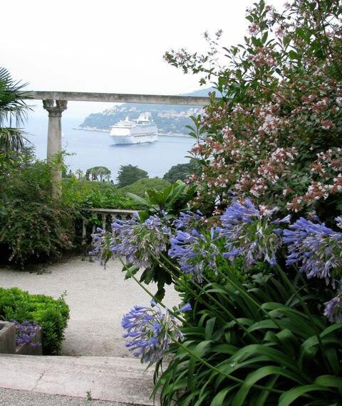 View, Villa Ephrussi de Rothschild