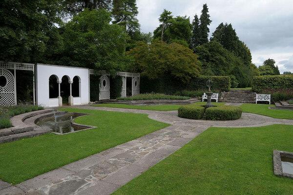Dyffryn Botanic Garden, July