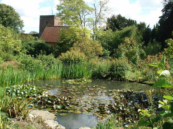 Pond, Upton Grey