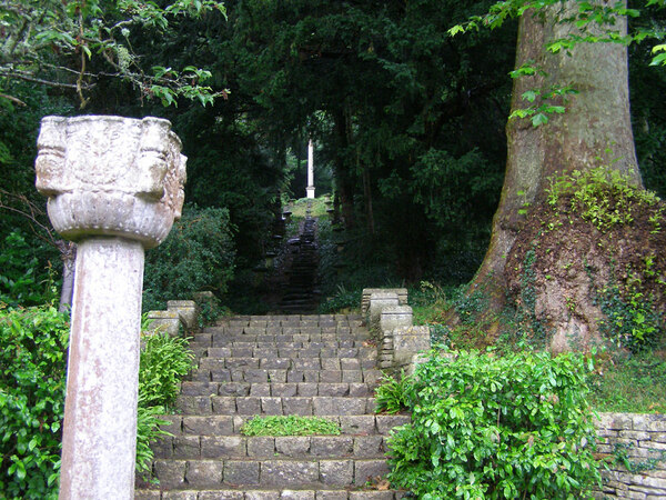 Steps, Iford Manor