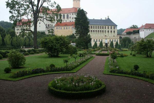 Schloss Weesenstein Garden