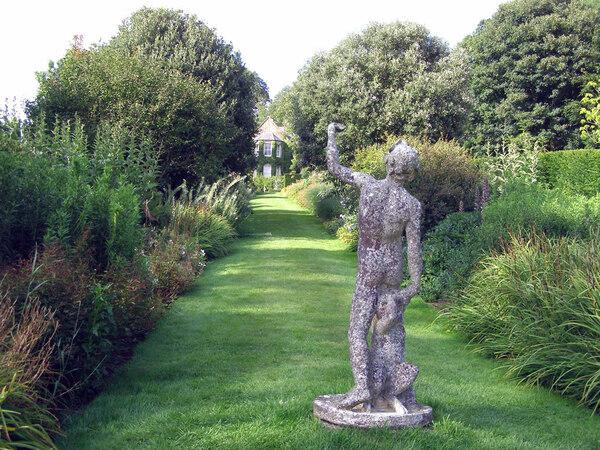 Statue, Broughton Grange
