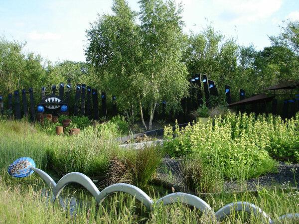 WWT London Wetland Centre, June