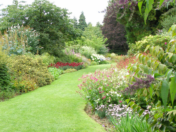 Borders, Highclere Castle Garden