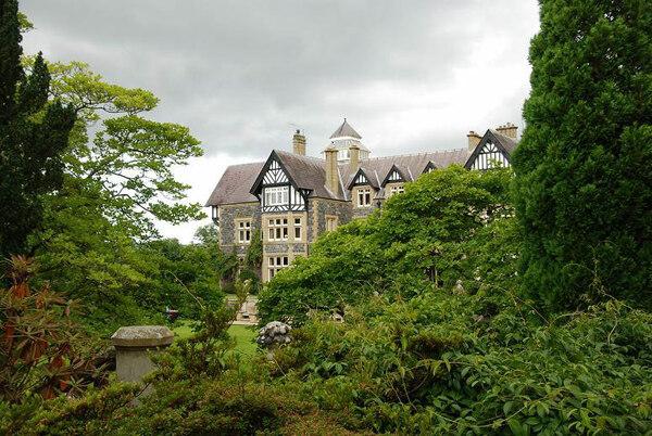 House, Bodnant Garden