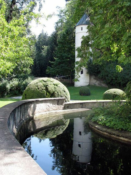 Ambras Schlosspark, Summer 2009
