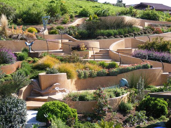 The wave garden for Garden design richmond