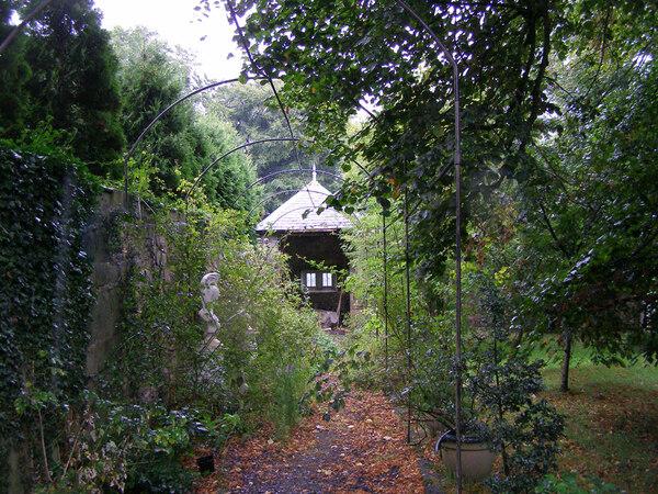 Plas Teg Garden, Flintshire