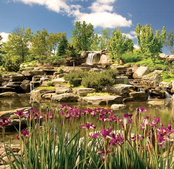 Waterfall, Frederik Meijer Gardens