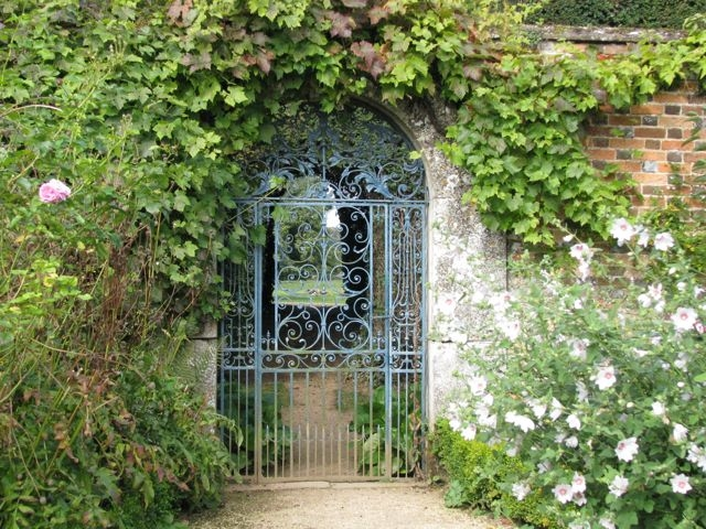 Gate, Rousham House and Garden