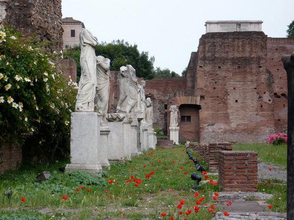 Vestal Virgins Garden, Rome