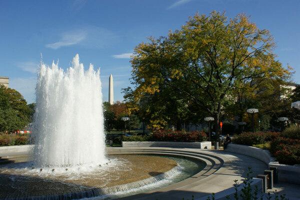 Founatin, Federal Reserve Garden