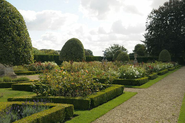 Rose Garden, Grimsthorpe Castle