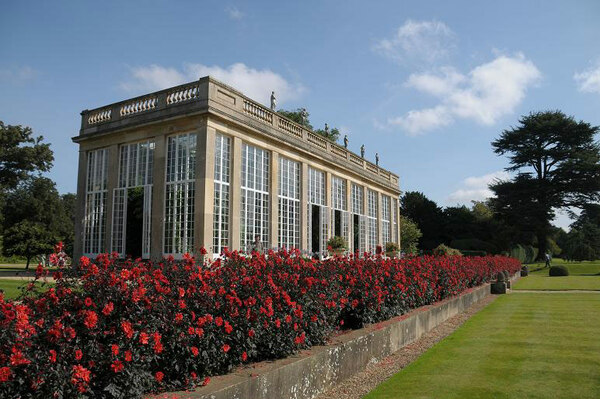 Belton House, September