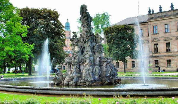 Fountain, Erlangen Schlossgarten