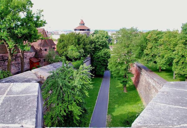 Nuremberg Castle Gardens