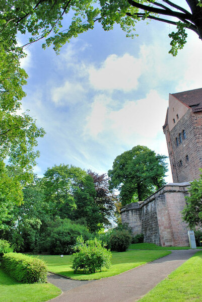 Nuremberg Castle Gardens, Germany