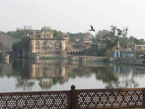 Deeg Palace Gardens, December 2009