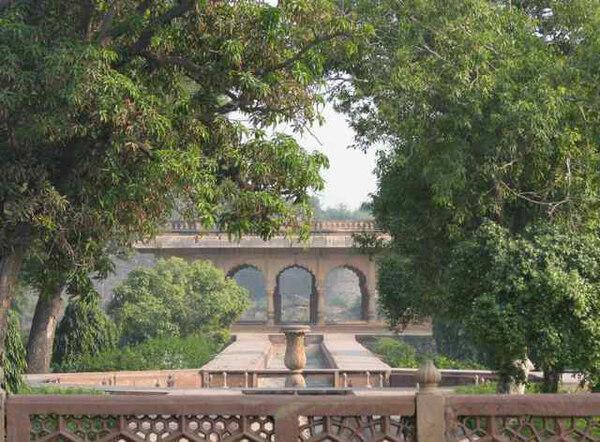 Deeg Palace Gardens, India