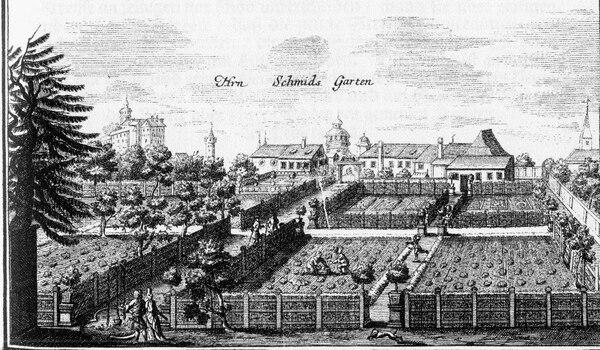 Herr Schmid's Garden, Hesperidengärten