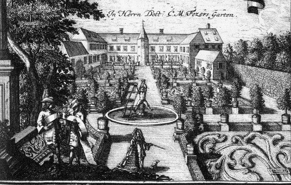 Dr Fezer's Garden, Hesperidengärten