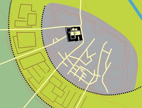 Mari Palace Syria Plan