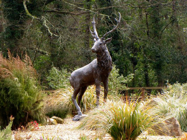 Stag Scupture