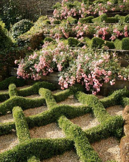 Knot Garden, Château de Losse