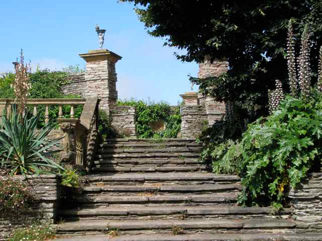 Steps, Hestercombe House Gardens