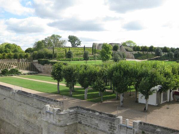 Chateau Amboise Garden, France