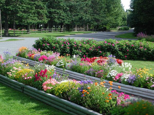 Raised Beds, Roosevelt Campobello Gardens