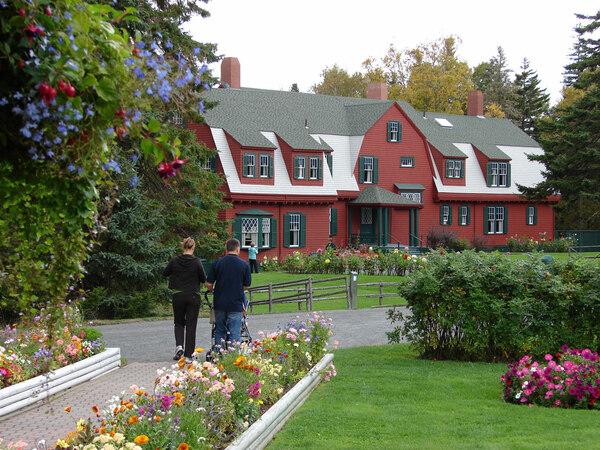 Summer Home, Roosevelt Campobello Gardens