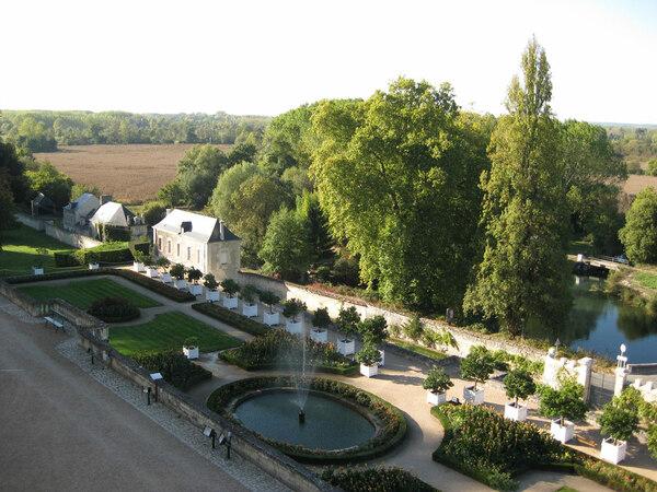 Jardins d'Ussé, Loire