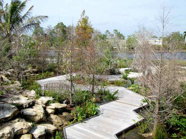 Boardwalk, Children's Garden