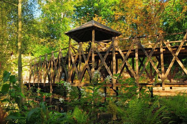 Bridge, Jardin de Léonard