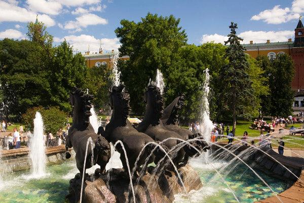 Fountain, Alexander Garden