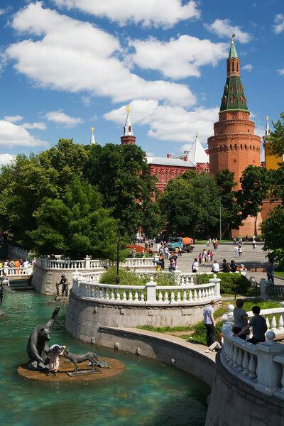 Alexander Garden, Moscow