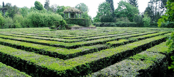 Maze, Giardino Barbarigo