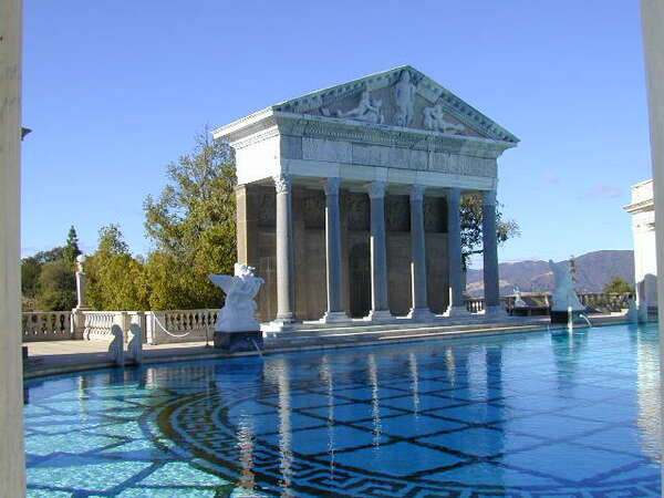 Hearst Castle Garden Pool