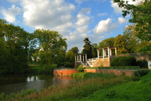 Landschaftspark Putbus, Germany