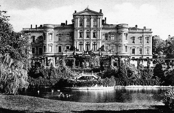 Schloss Putbus, 1922