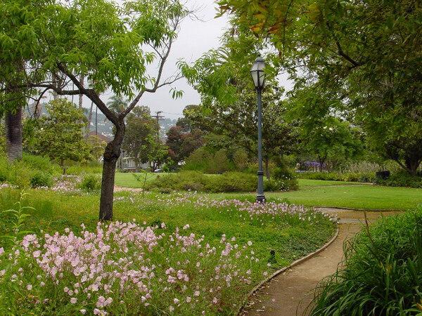Alice Keck Park, May