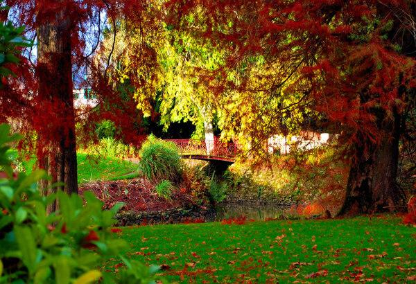Jardin du Parc de Vitré, Bretagne