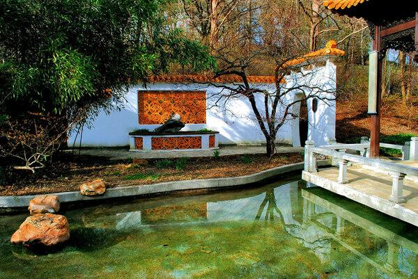 Chinese Garden, Ostasien Ensemble