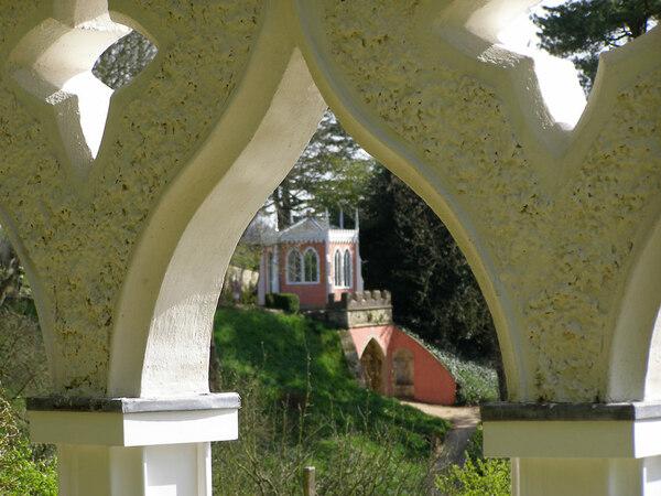Painswick Rococo Garden, England