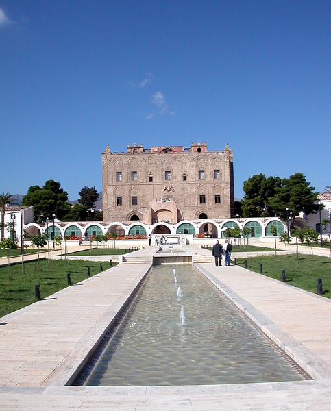 Ziza Genoard Palace Garden Palermo