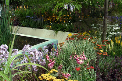 The Growing Schools Garden - Learning Outside the Classroom, designed by Chris Beardshaw, Hampton Court Palace Flower Show 2007