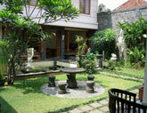Medium bali garden indonesia original