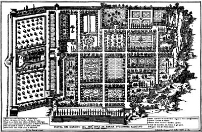 Early Baroque Gardens In Italy