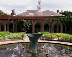 Holland park garden